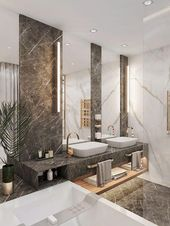 Bathroom Marble Ideas for Luxurious Personal Space