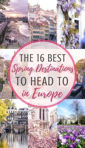 Best Spring Destinations in Europe: cherry blossom & festivals | solosophie
