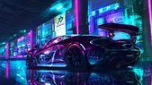 Cyberpunk Supercar, Jacopo Alfano