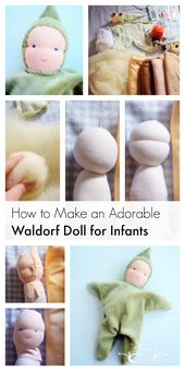 Make a Waldorf Doll for Infants – Health, Home, & Happiness