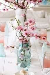 Mason Jars and Flowers DIY Projects – The Cottage Market