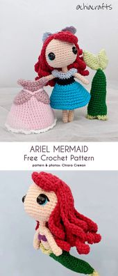 Movie Character Doll Free Crochet Patterns