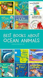 The 13 Best Kids Books About Ocean Animals