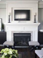 Top 60 Best Fireplace Mantel Designs – Interior Surround Ideas