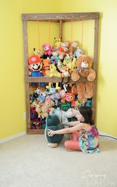 20 Brilliant Stuffed Animal Storage Solutions – Behind the Mom Bun
