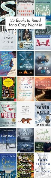23 Books to Read for a Cozy Night In