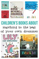Great Picture Books : Marching To The Beat Of Your Own Drummer – No Time For Flash Cards