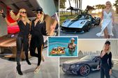 Inside the high-octane life of YouTube stunner 'Supercar Blondie' – brushing shoulders with celebrities and reshaping motoring entertainment