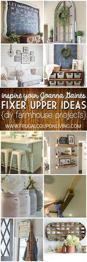 Inspire Your Joanna Gaines – DIY Fixer Upper Ideas