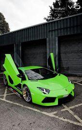 Nice Lamborghini 2017: Green Lamborghini Aventador :)… Car24 – World Bayers Ch…