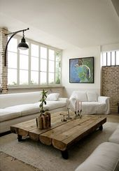Nice-Small-Picture-Wall-Murals-in-Industrial-Living-Room1.jpg (600×868)