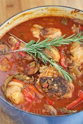 Oven Braised Chicken Cacciatore with Rosemary Recipe – Jeanette's Healthy Living