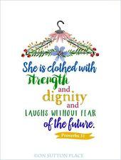 Proverbs 31 Free Original Printables