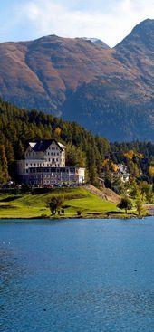 St. Moritz lake – Switzerland
