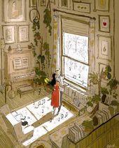 Sweet Serene Illustrations Celebrate the Simple Joyful Moments of Everyday Life