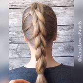 #hairvideo #hairtutorial #hairvids #braidinspo