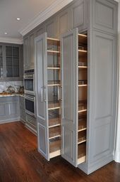 kitchen pullout cabinets #australian #creative #designs #ideas #inspiration
