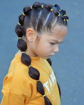 ▷ 1001 + idées de coiffure pour fillette simple, rapide et trop mignonne