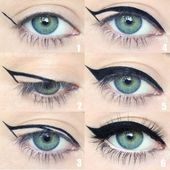 03 façons de bien tracer son eyeliner – NYBeauty & Care