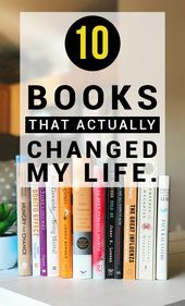 10 Books that Actually Changed my Life – Thyme Is Honey