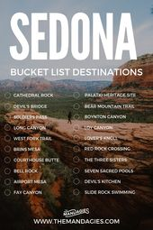 15 Jaw-Dropping Hikes In Sedona To Make You Want To Move To The Desert – The Mandagies