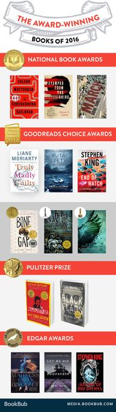 20 Outstanding Books That Won Awards in 2016