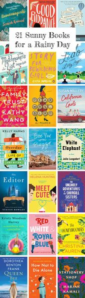 21 Sunny Books for a Rainy Day