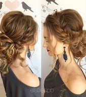 35 Romantic Wedding Updos for Medium Hair – Wedding Hairstyles 2020 – Hairstyles Weekly