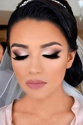 45 Wedding Make Up Strategies For Classy Brides | Marriage Forward