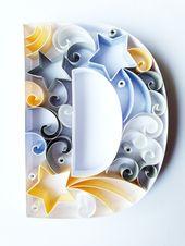 Alphabet Initial Nursery Wall Art