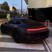 "BeyondSixFigures on Instagram: ""Blacked Out Porsche 992 🔥 @justinwoll ⠀ 📸 @blackbedouin"""