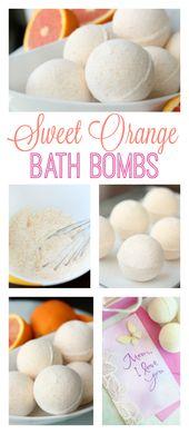 DIY Orange Bath Bomb Recipe: Smells Like Fresh Oranges!