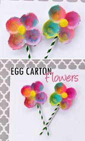 Egg Carton Flowers – I Heart Arts n Crafts
