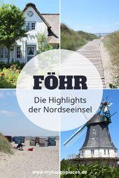 Föhr: Die Highlights der Nordseeinsel