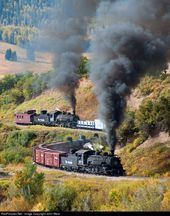 RailPictures.Net Photo: DRGW 484/DRGW489 Cumbres & Toltec Scenic Railroad Steam …