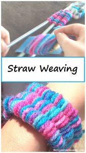 Soda Straw Weaving Tutorial
