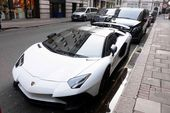 Supercars including Lamborghinis slapped with fines outside hotel — The Sun