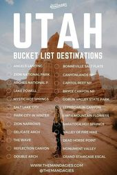 The Ultimate Road Trip To All 5 Utah National Parks – The Mandagies