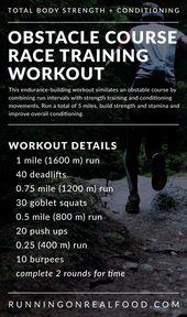 Tough Mudder Training Workout – Running on Real Food