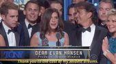 When He Was Shaken Over Dear Evan Hansen's Best Musical Win