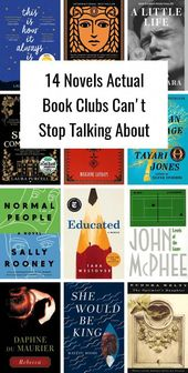 14 Novels Actual Book Clubs Can't Stop Talking About