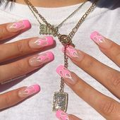 27 of the best pink nail designs on Instagram