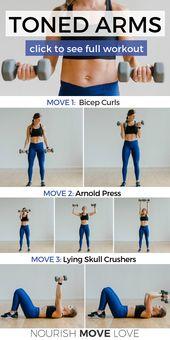 5 Best Upper Body Exercises for Women | Nourish Move Love