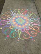 50 Super Fun Summer Sidewalk Chalk Art Ideas