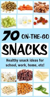 70 Of The Best Portable Healthy Snacks