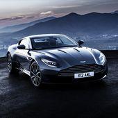 Aston Martin DB11 supercar van Atelier Liesjes op canvas, behang en meer