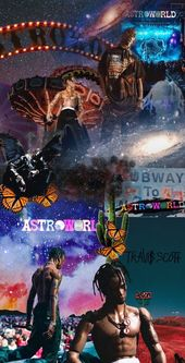 Astroworld Wallpaper for mobile phone, tablet, desktop computer and other device…