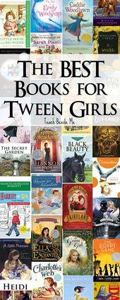 Best Books for Tween Girls – Teach Beside Me