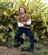 Brad Pitt says his place is not in front of the camera as he ages