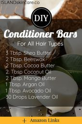DIY – Conditioner Bars For All Hair Types
